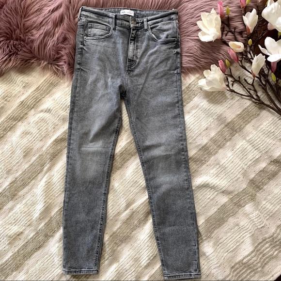 ZARA▪️NWOT Sculpt Ultra High Rise Skinny Jeans. 8